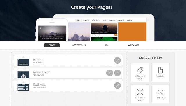 إنشاء تطبيق استخدام بناء أداة appful المواقع التجارية