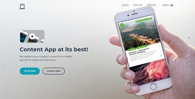 إنشاء تطبيق ووردبريس للجوال appful