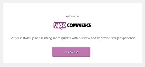 لأول مرة تثبيت ووكومرس على ووردبريس