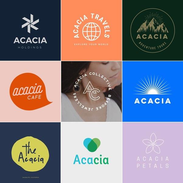 لوجو علامات تجارية مختلفة وكيفية تصميمها