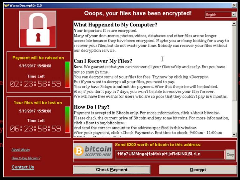 هجمات البرمجيات الخبيثة الفدية