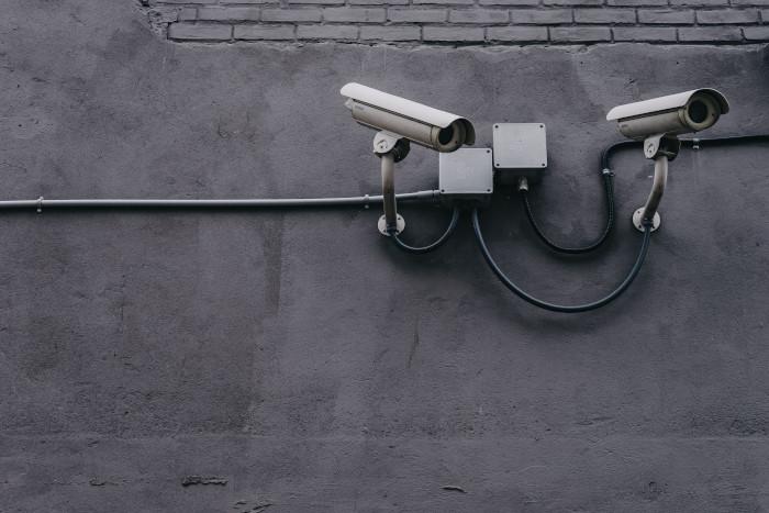 الأمن السيبراني كاميرا مراقبة