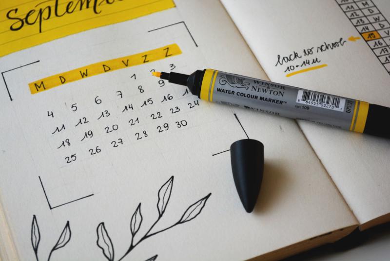 تدوين كتابة مدونة تقويم