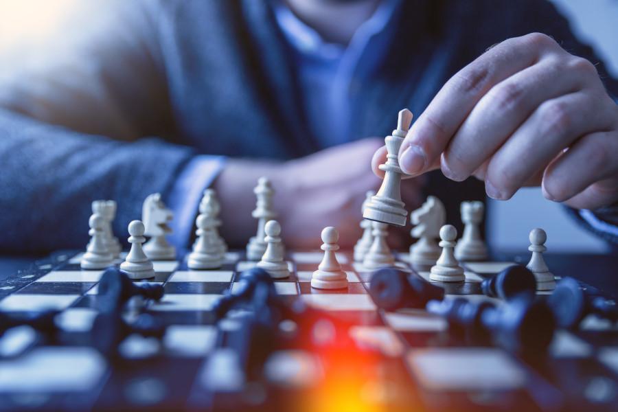 عقلية مدير شطرنج