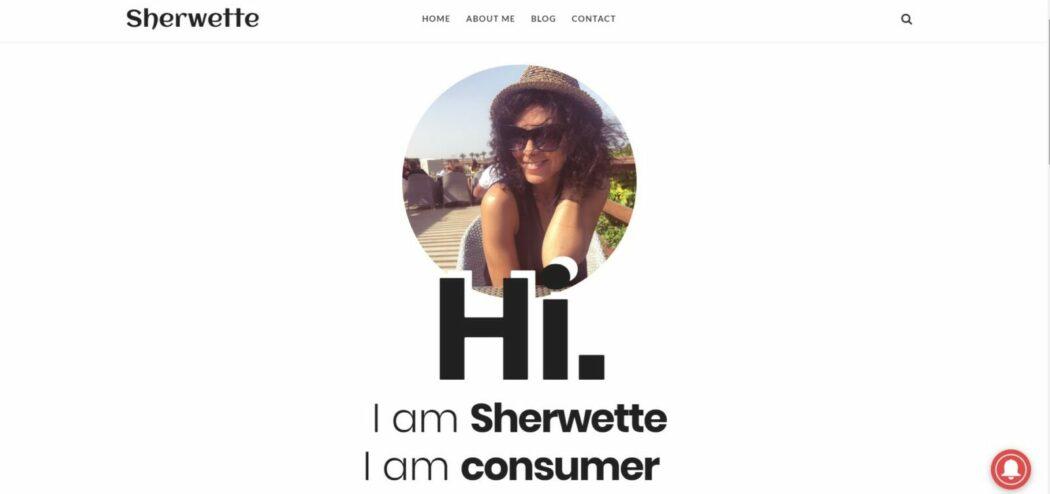مدونة شيرويت سلوك المستهلك الصفحة الرئيسية