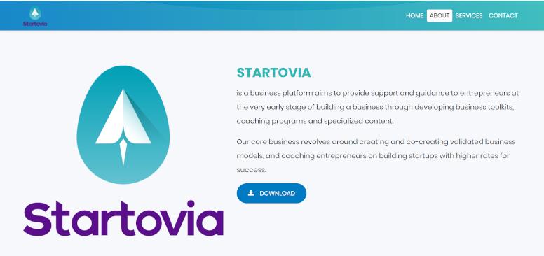 Startovia منصة توجيه لرواد الأعمال