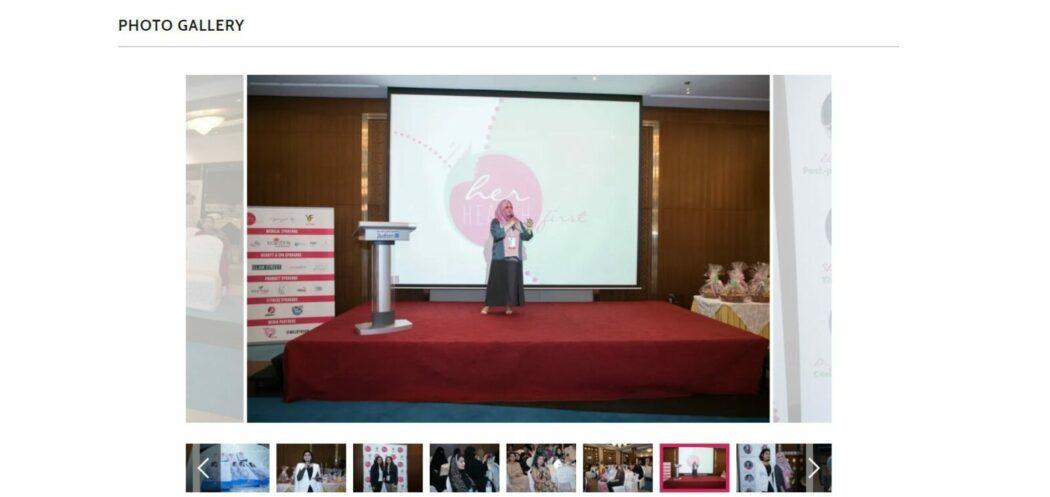 her health first صور الفعاليات الأحداث